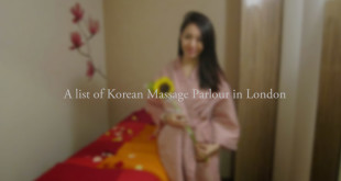 korean massage girl in London
