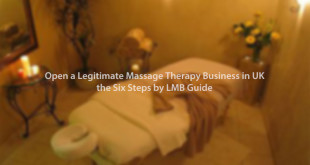 open a legitimate massage therapy service in UK