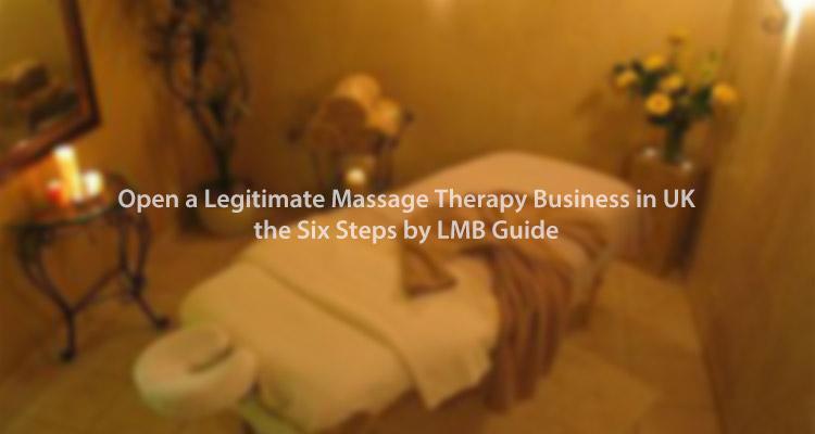open a legitimate massage therapy service in UK