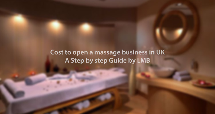 cost of open a UK massage business