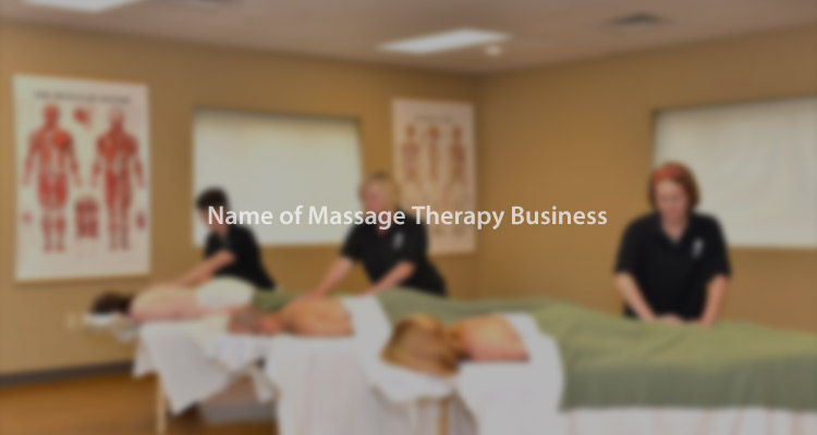 choose a right name for your massage business