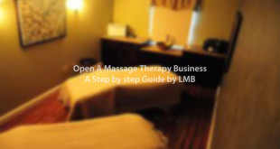 open a massage therapy business in London