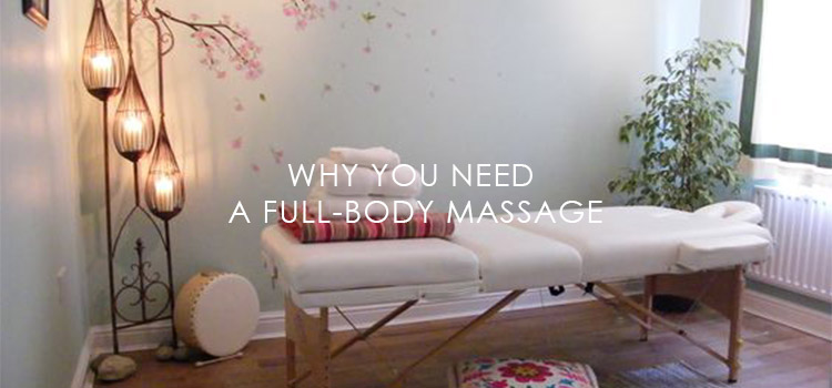 reason to have a full body massage