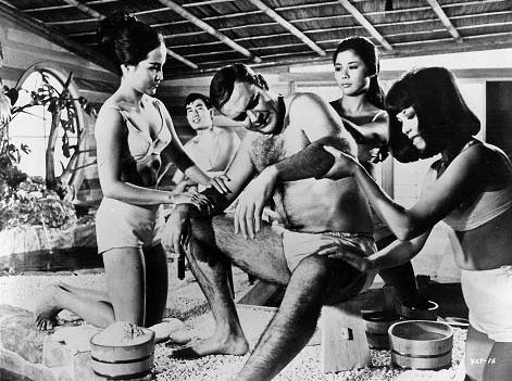 Japanese soapland & erotic massage