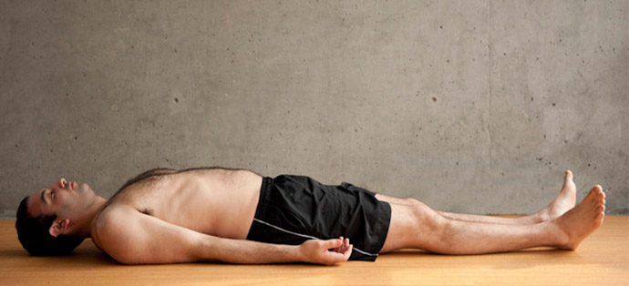 Man Savasana