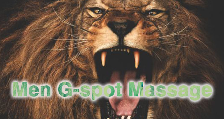 G-spot Prostate massage for men